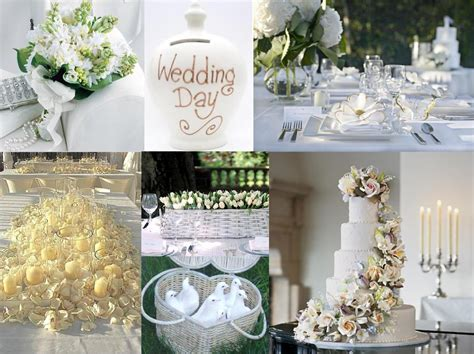 White Wedding Decorations by White Wedding Decoration Weddings On The