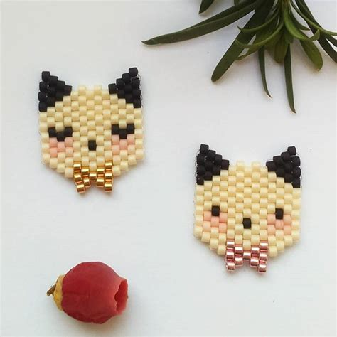 beadwork cat 191 best images about beaded animals on
