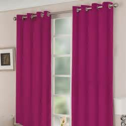 curtains 66x90 bright pink ring top curtains argos bedroom
