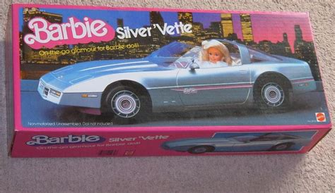 barbie corvette silver 38 best barbie collection from the 80 s images on