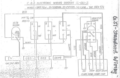 vintage gibson wiring diagram for active gibson
