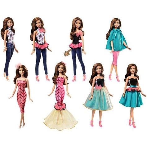 fashion z dolls fashion mix n match teresa doll toys toys r us