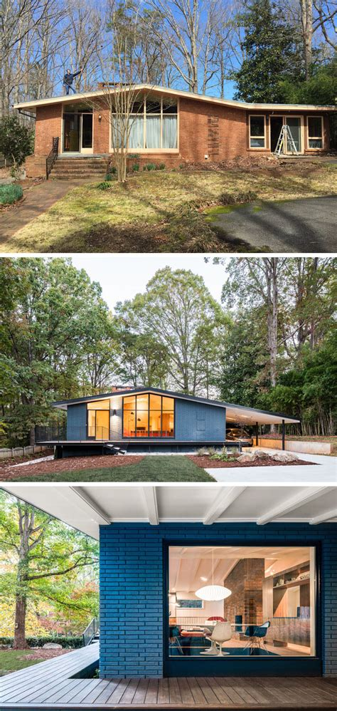 modern home design carolina this mid century modern house in north carolina received a