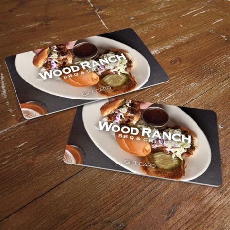 perfect holiday gifts a restaurant gift card dining gift cards - Wood Ranch Gift Cards