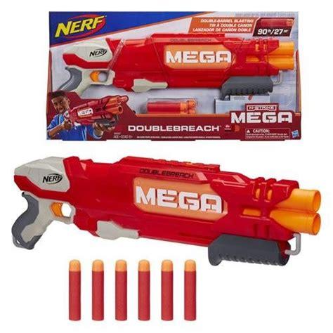 Eceran Peluru Nerf Mega Blaster nerf n strike mega elite doublebreach blaster mawjod