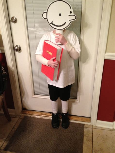 Handmade Costumes For - diary of a wimpy kid quot greg quot costume