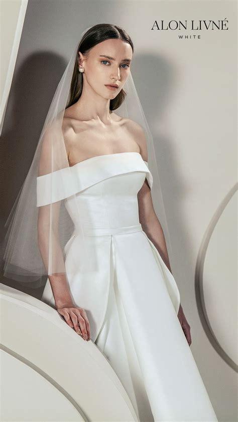 stunning alon livne white spring  wedding dresses