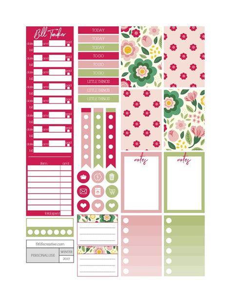 printable life planner stickers 17 best images about planner stickers on pinterest life