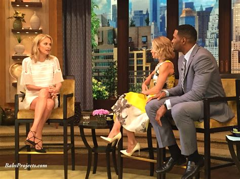 leslie mann on live with kelly and michael livewithkellyandmichael recipes blog dandk