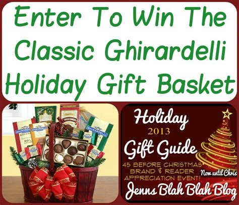 Win The Official Grammy Gift Basket by Giveaways Win A Classic Chirardelli Gift Basket