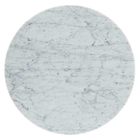 "Odyssey 20"" Round Marble Modern Side Table   Eurway"