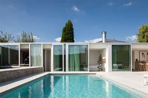 die poolbauer gallery of poolhouse mrt steven vandenborre architects 10