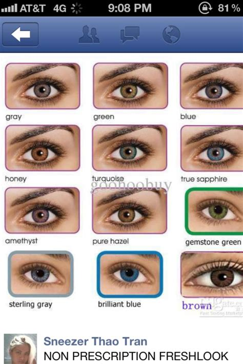 color contacts non prescription colored contacts walmart lookup beforebuying
