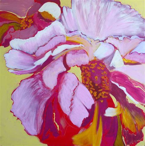watercolor tutorial peony peony exuberance flower painting tutorial with acrylic