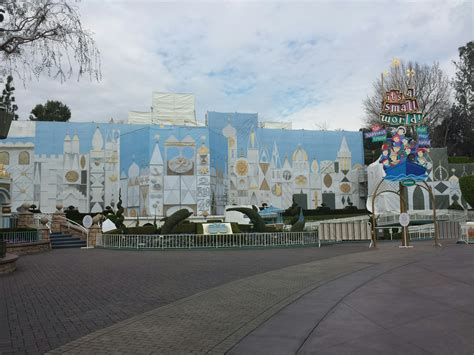 it s a world it s a small world is closed for the removal of the overlay and exterior