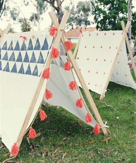backyard teepee tent 30 diy ideas how to make your backyard wonderful this summer