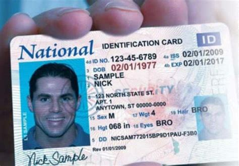 church id card template national id card tucked in immigration bill redoubt news
