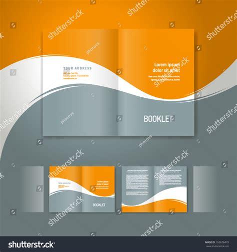 booklet design template booklet design template white curve line element orange