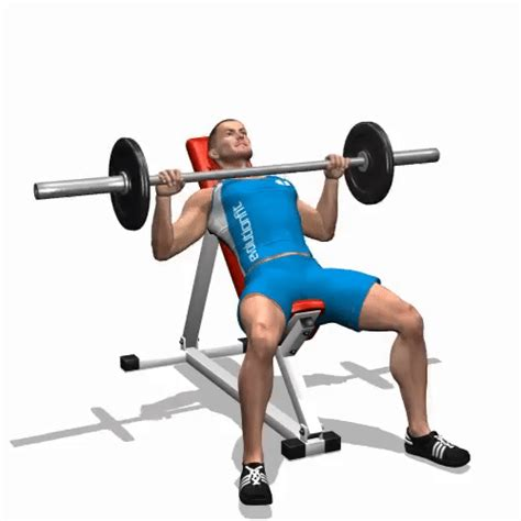 incline bench barbell press healthkartclub one of the best exercises and all types