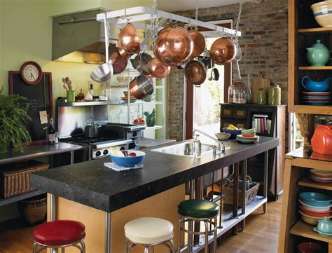 Kitchen Island Pot Rack superb countertop laminate decorating ideas gallery in