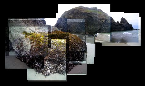 creative montage photography  oregon coast creative