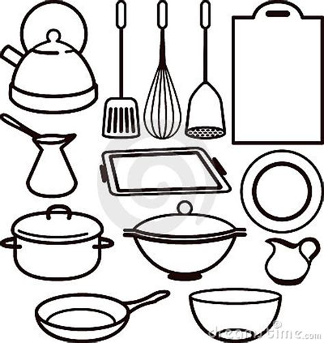 Drawing Utensils by Cooking Utensils Drawing Clipart Panda Free Clipart Images