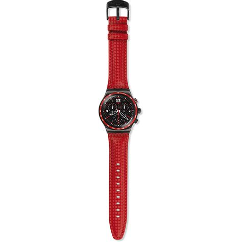 Swatch Rosso Fuoco Yvm401 swatch irony yvm401 rosso fuoco horloge ean