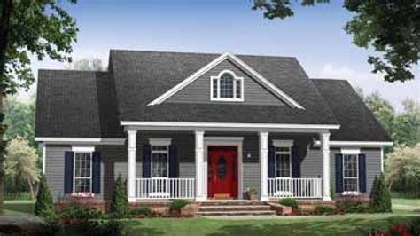 small country house plans with porches best small house