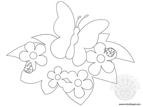 disegni da colorare fiori di primavera disegni di primavera da colorare tuttodisegni
