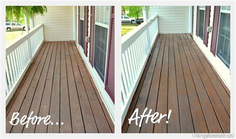 front porch part   paint  stain sprucing