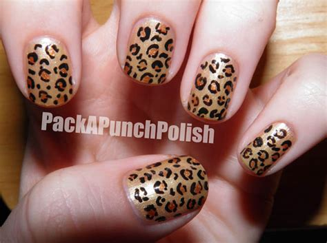 Pictures Of Leopard Print Nail Designs