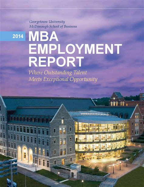 Georgetown Mba Admissions Login by Georgetown Mcdonough School Of Business 2014