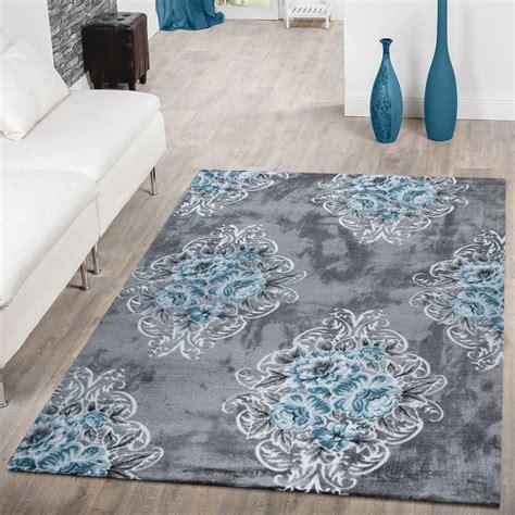 grauer runder teppich grauer teppich mit great shaggy teppich micro