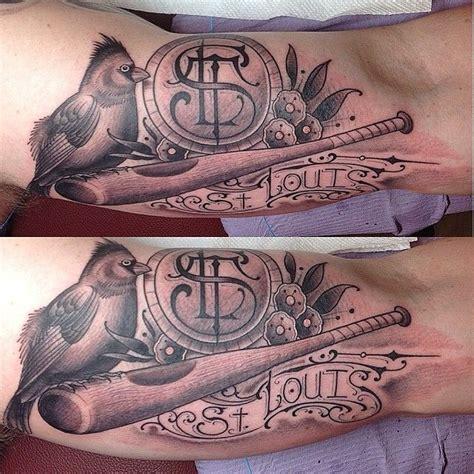 old soul tattoo stlouis cardinal by noah greg takayama