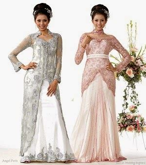 trend kebaya modern untuk menghadiri pernikahan model contoh desain kebaya brokat modern untuk wisuda dan