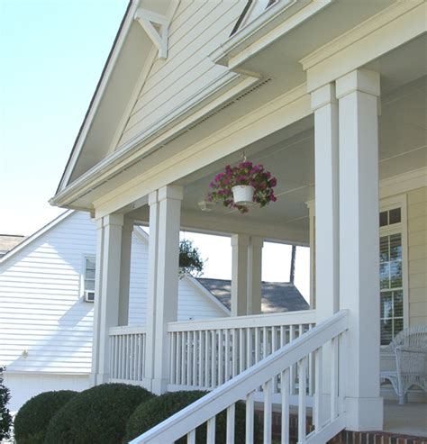 Pvc Porch Columns non tapered pvc porch columns curb appeal products