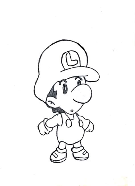 baby luigi coloring page baby mario and baby luigi coloring pages az coloring pages