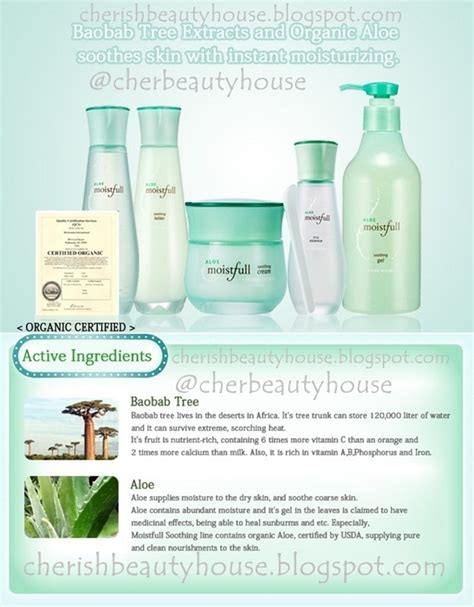 Harga Etude House Soothing Gel cherish house aloe moistfull series