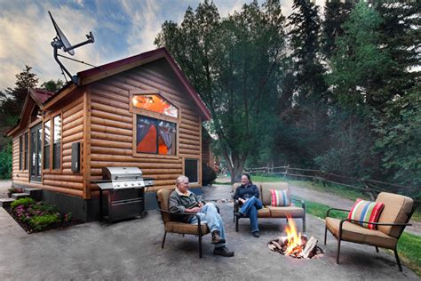 Lodging In Wyoming Cabin by Snake River Park Koa And Cabin Jackson Wy