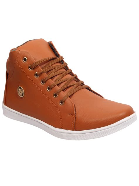ankle length shoes for shoe island si2020 brown ankle length casual shoes