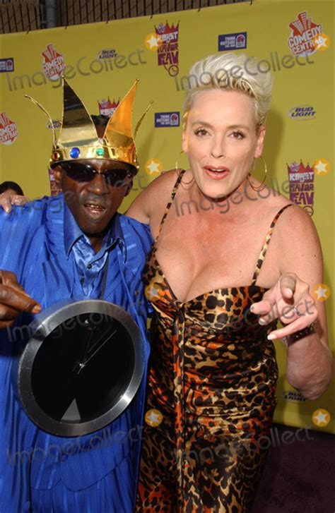 Flavor Flavs Comedy Central Roast My Pics by Photos And Pictures Flavor Flav And Brigitte Nielsen At