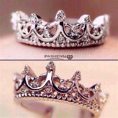 jewels princess ring tiara ring ring crown ring