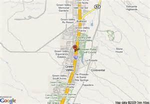 green valley arizona map map of comfort inn green valley green valley