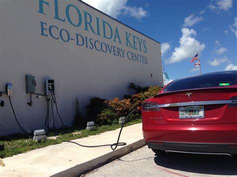 Tesla Charging Stations Florida Electric Car Charging Station Installed At Noaa S Florida