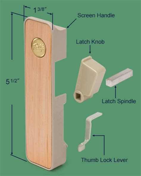 Pella Screen Door Latch by 83 123 Pella Interior Screen Door Handle Xo Swisco