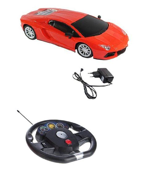 Orange Lamborghini Remote Car Baby Lamborghini Sensor Remote Car Orange