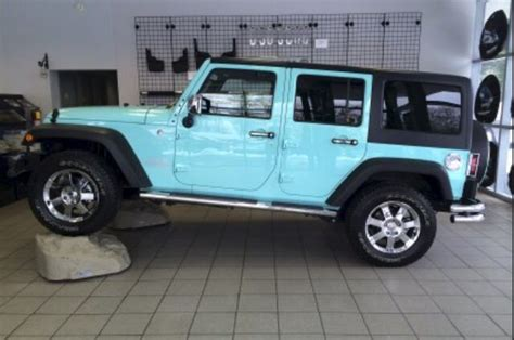 tiffany blue jeep i have found the one i want to spend the rest of my life
