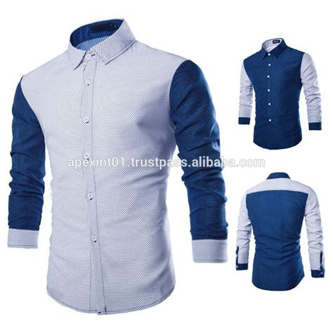 new fancy simple design formal dress s stripe shirts