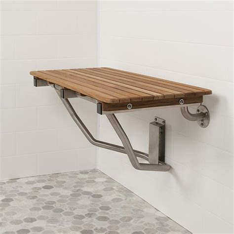 shower seats and benches ada compliant foldup teak shower seats and benches