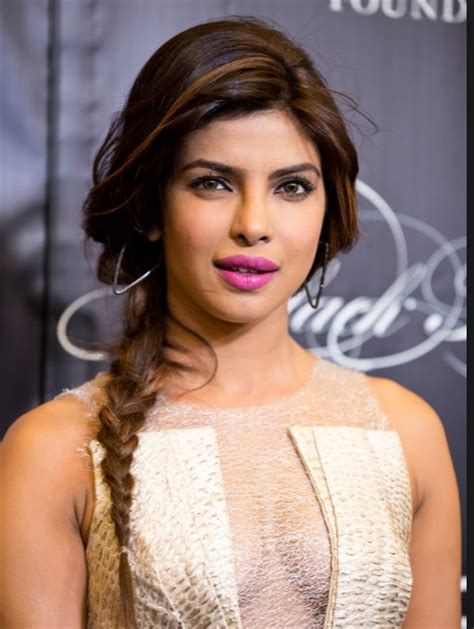 priyanka chopra ponytail hairstyle priyanka chopra hairstyles for some inspiration